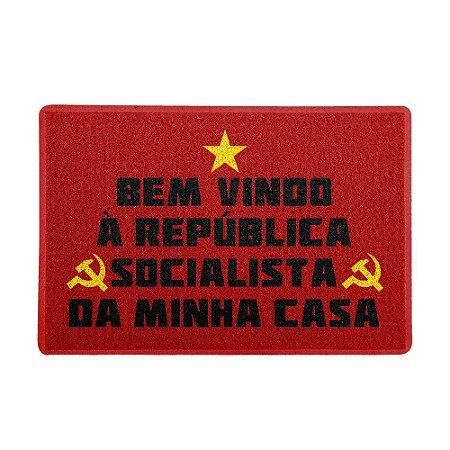 Capacho 60x40cm - Republica Socialista
