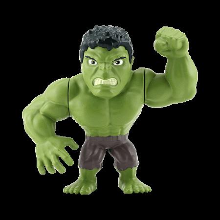"""Boneco Metal DIE CAST MARVEL Hulk Clássico 4"""""""