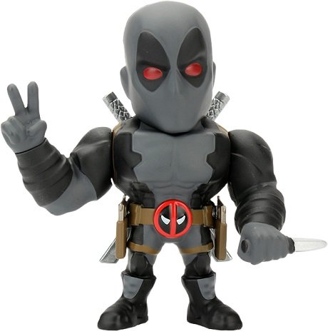 Boneco Metal DIE CAST MARVEL Dead Pool X-Force 4""
