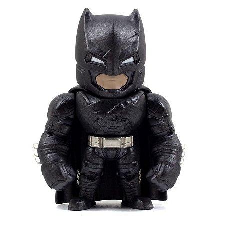"Boneco Metal DIE CAST DC COMICS Batman Armadura BvS 4"""