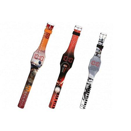 Relógio de Pulso Digital Led DTC STAR WARS - Vários Modelos