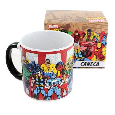 Canecão Heróis Marvel Comics 500ml