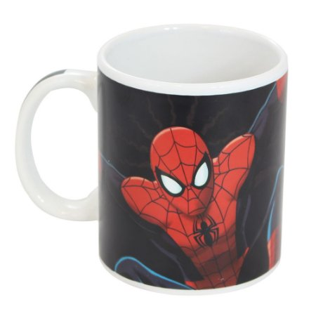 Caneca Mágica Marvel Homem Aranha 300ml