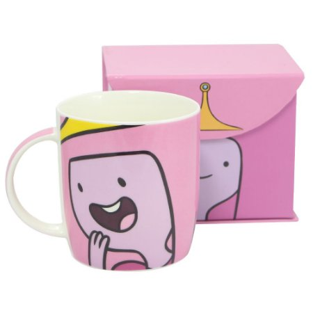 Caneca Hora De Aventura Princesa Jujuba Faces 320ml