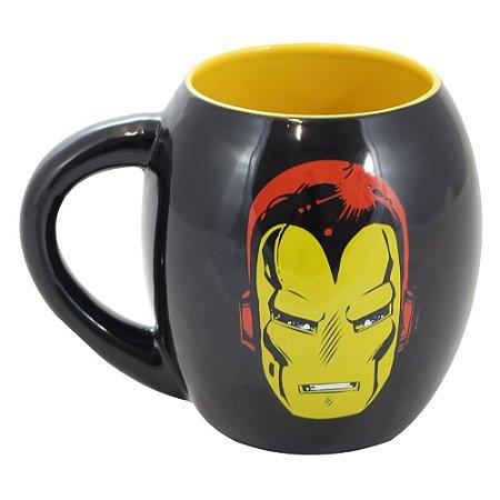 Caneca Oval Marvel Homem de Ferro 530ml