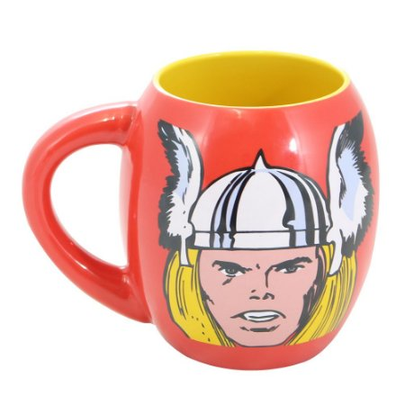 Caneca Oval Marvel Thor 530ml