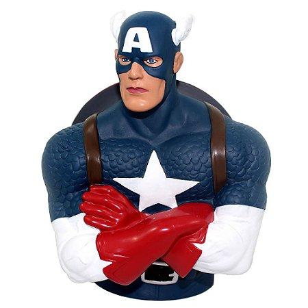 Cofre Busto Marvel Capitão América