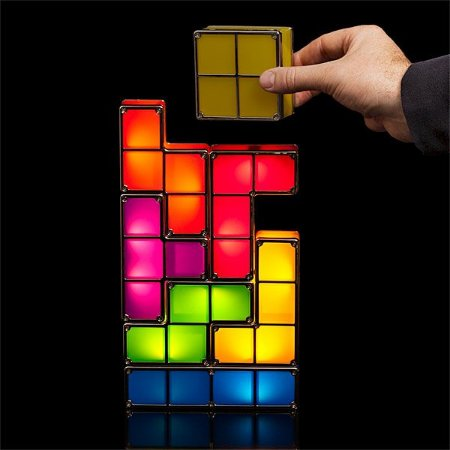 Luminária Tactbit Lights Tetris Usb