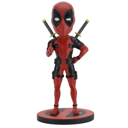 Estatueta Head Knocker DEADPOOL - Neca
