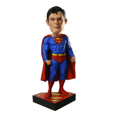 Estatueta Head Knocker SUPERMAN Clássico - Neca