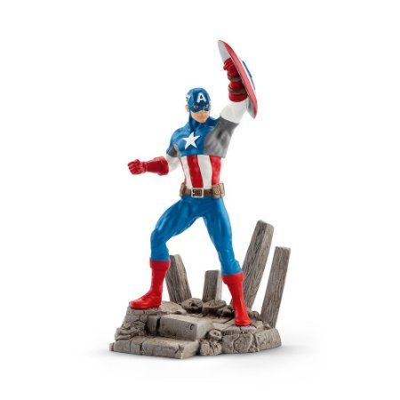 Estatueta CAPITÃO AMÉRICA Marvel - Schleich