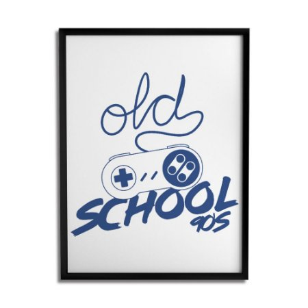 Quadro Decorativo Old School By Cleyton Braga - Beek