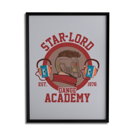 Quadro Decorativo Star-Lord By Cleyton Braga - Beek