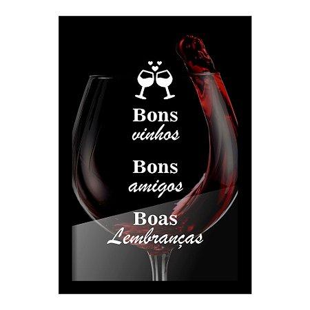Quadro Porta Rolhas de Vinho BONS