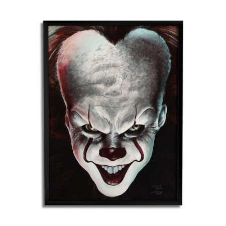 Quadro Decorativo Pennywise By Baal's - Beek