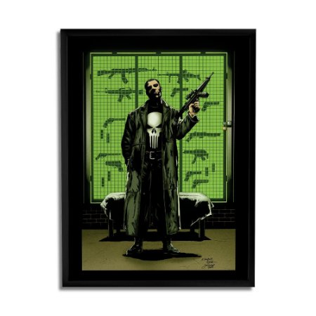 Quadro Decorativo Punisher Guns By Baal's - Beek