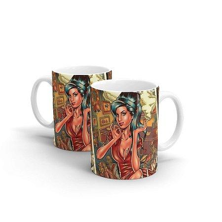 Caneca Personalizada Cerâmica AMY By Renato Cunha - Beek