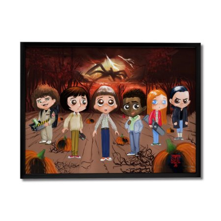 Quadro Decorativo Stranger Things 2 By Júlio Magah - Beek