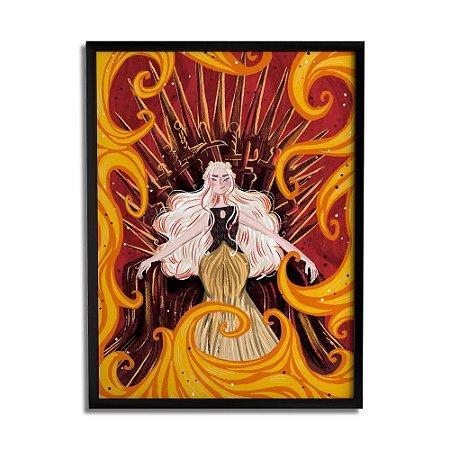 Quadro Decorativo Daenerys By Carol Rempto - Beek