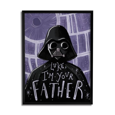 Quadro Decorativo Darth By Carol Rempto - Beek