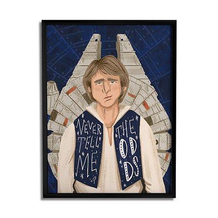 Quadro Decorativo Han Solo By Carol Rempto - Beek