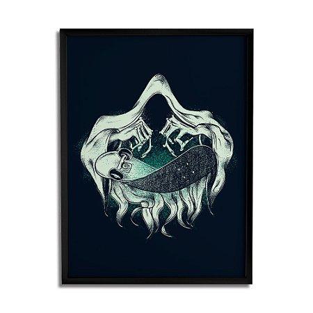 Quadro Decorativo Death By Igor Tiogo - Beek