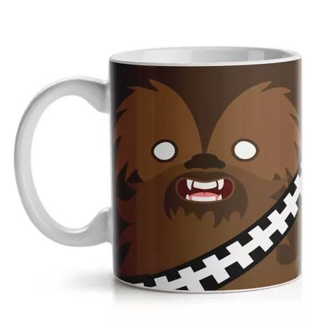 Caneca Geek Side Faces Chill Bacca