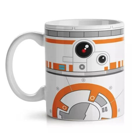 Caneca Geek Side Faces BB-8