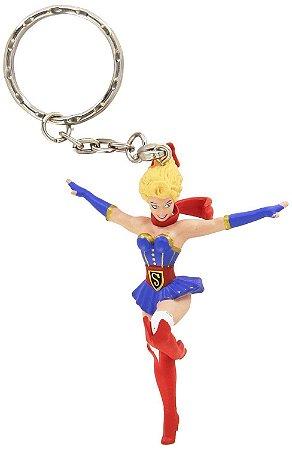Chaveiro Bombshells Dc Comics Supergirl
