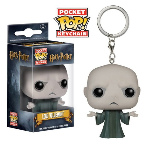 Chaveiro Funko Pocket Pop! Harry Potter - Voldemort