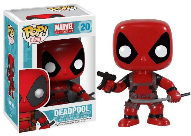 Estatueta Funko Pop Marvel - Deadpool