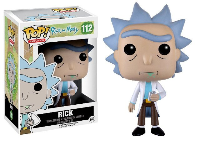 Estatueta Funko Pop! Animation Rick & Morty - Rick