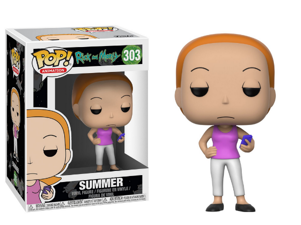 Estatueta Funko Pop! Animation Rick & Morty S3 - Summer