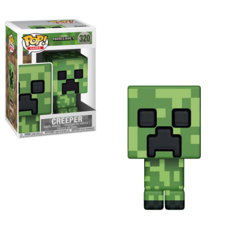 Estatueta Funko Pop! Games Minecraft - Creeper