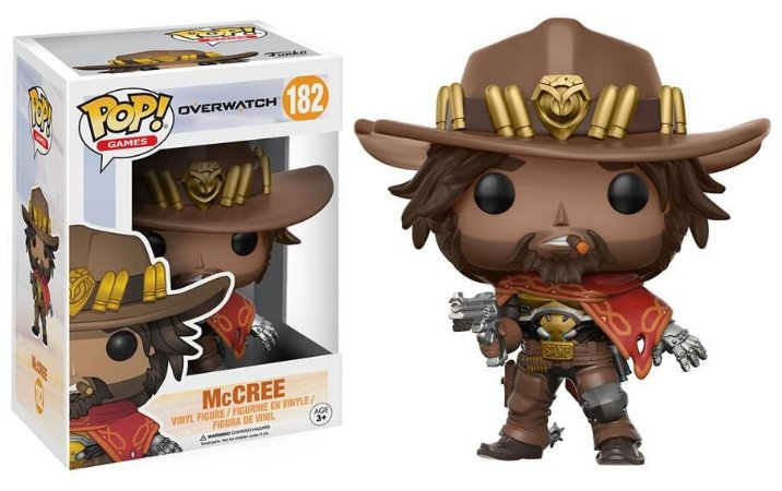 Estatueta Funko Pop! Games Overwatch - McCree