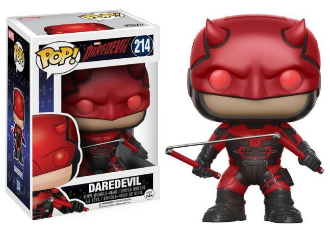Estatueta Funko Pop! Marvel Daredevil Tv - Demolidor W/Helmet