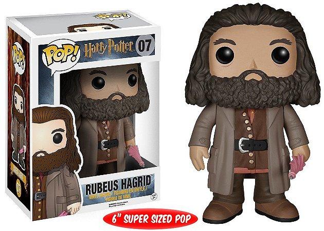 "Estatueta Funko Pop! Movies Harry Potter - Rubeus Hagrid 6"""