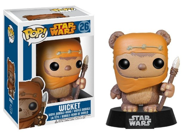 Estatueta Funko Pop! Star Wars - Wicket