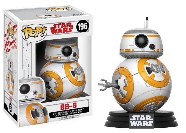 Estatueta Funko Pop! Star Wars The Last Jedi - Bb-8