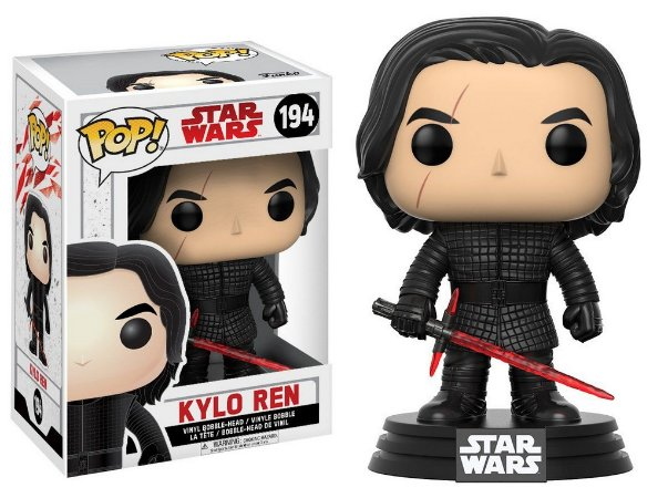 Estatueta Funko Pop! Star Wars The Last Jedi - Kylo Ren