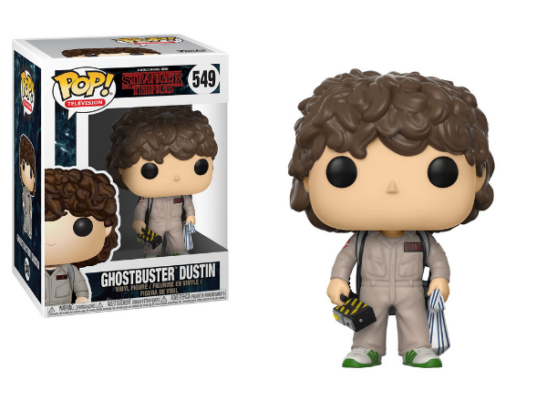 Estatueta Funko Pop! Television Stranger Things - Dustin Ghostbusters