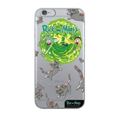 Capa Para Celular Cats RICK AND MORTY Oficial - Beek