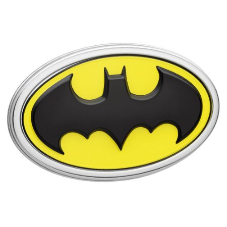Emblema 3D Automotivo LOGO BATMAN Colorido DC Comics - Fan Emblems