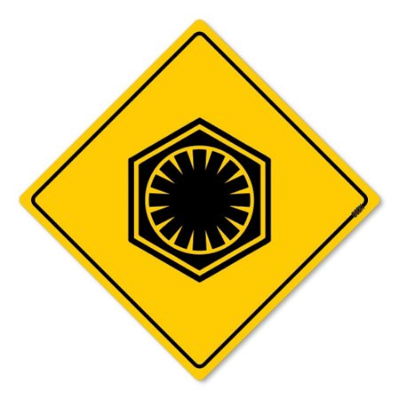 Placa Decorativa 30x30 Sinalização Primeira Ordem - Beek