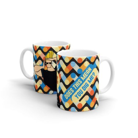 Caneca Cartoon Network POP Jhonny Bravo - Dig Me