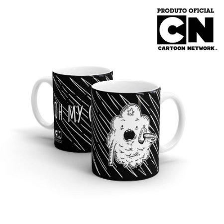 Caneca Cartoon Network OFF Hora da Aventura - Oh My Gloob!