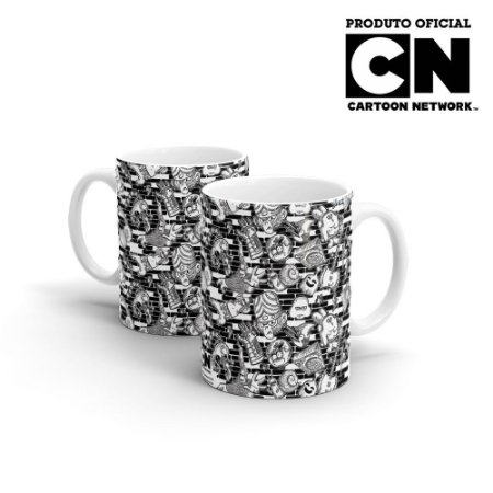 Caneca Cartoon Network OFF Mix de Personagens 1