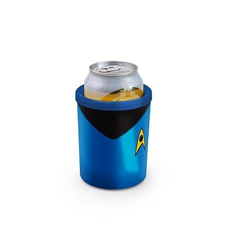 Porta Latas 350ml Star Beers Azul - Beek