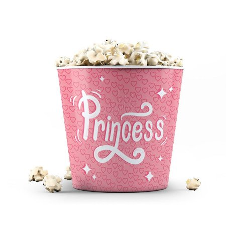 Balde de Pipoca 3,5 litros DOLL Princess 1 - Beek