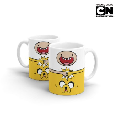 Caneca Cartoon Network HORA DE AVENTURA Finn e Jake - Beek
